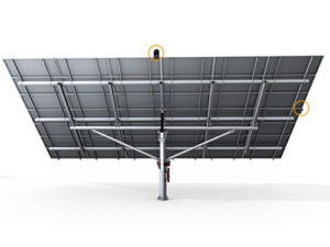 PST-2AL Dual Axis Solar Tracker with Real Time Sensing